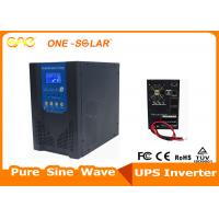 Off Grid UPS 5000w DC To AC Inverter 48v 50Hz 60Hz With Battery Charger / 64-Bits DSP Manufactures