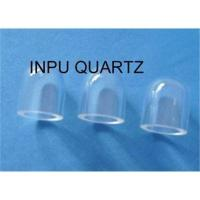 Sell Quartz glass sleeve tube with ond end Manufactures