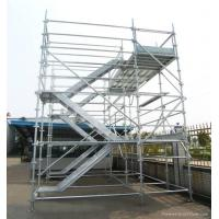 Outdoor Modular Kwikstage Scaffolding / Quick Stage Scaffolding For Engineering Construction Manufactures