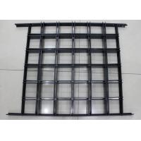 Install with Black T bar Frame Metal Aluminum grid ceiling 600 x  600 Lattice Manufactures
