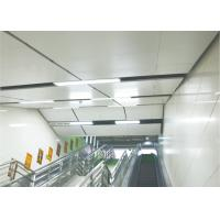 China Aluminum Perforated Lay In Ceiling Tiles sheet , Floating 600 x 600 Ceiling Panels on sale