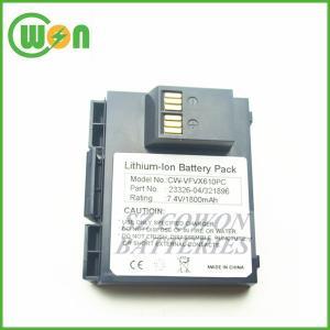 China 23326-04 23326-04-R LP103450SR+321896 VX610 wireless terminal battery for verifone VX610 POS machine battery 7.4V 1800mA wholesale