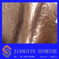 Metal Colour Furniture Upholstery Leather Fabric Decorative Wallpaper Manufactures