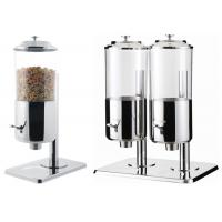 China Dry Food Catering Buffet Equipment , Single And Double Stainless Steel Cereal Dispenser wholesale