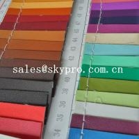 China 0.8mm sofa Leather high quality black pvc leather 3D printing pu leather fabric wholesale