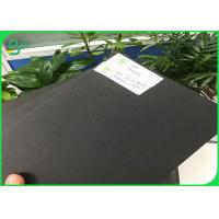 China 1.0mm 1.5mm 1.7mm 2.0mm 2.5mm 3mm Black Cardstock Paper Board For Small Cardboard Box on sale