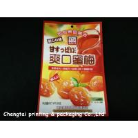 Flexible Plastic Packaging Dried Fruit Bags Heat Sealed Impact Resistance / Recyclable Manufactures
