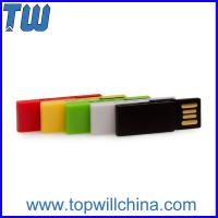 Colorful Clip Usb Drive 4GB Office Storage Free Logo Printing Company Gift Manufactures