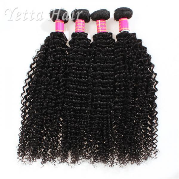 Quality Kinky Curly Burmese Virgin Hair Bundles , No Tangle Real Wavy Hair for sale