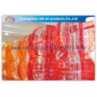 Football Playing Inflatable Bumper Ball , Inflatable Ball You Get Inside For Humans Manufactures