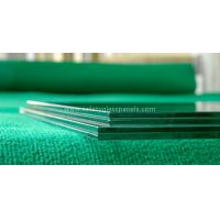 Euro Grey Float Tempered Glass Fence Panels In Curtain Wall / Stadium Manufactures