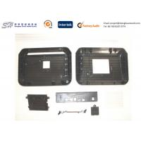 China Customized Black Plastic Electronic Enclosures / Housing With High Precision on sale
