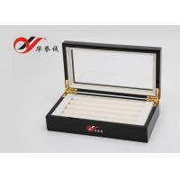 Jewellery Storage Wooden Jewellery Box  Flannelette Inside With Cover Manufactures