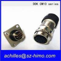 10pin DDK CM10 series servo motor quick connector male and female