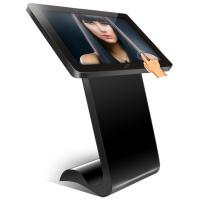 Waterproof Indoor Floor Standing Digital Signage Kiosk Touch Screen With RFID Card Reader Manufactures