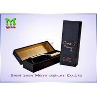 Personalized Custom Wine Gift Boxes Packaging With Logo Printed Manufactures