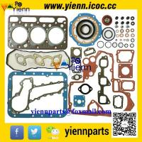 Kubota D1463LN D1463NND1463 engine parts overhual rebuild kit piston+ piston ring+full gasket set with head gasket Manufactures