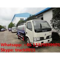 hot sale dongfeng 3300mm 5cbm water tank for export, factory sale export water tank Manufactures