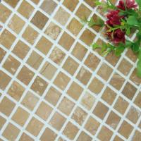China Square Pattern Kitchen Backsplash Wall Tile , Stone Kitchen Backsplash Subway Tile on sale