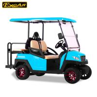 China 4 Wheel Fuel Type Electric Powered Golf Carts 145AH Battery With CE Certificate on sale