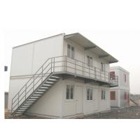 Two Floor 20ft Modular Container House For Workers Living On Construction Site Manufactures