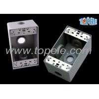 Weatherproof Electrical Boxes 3 Hole One Gang Outlet Fitting Accessory Manufactures