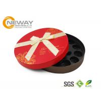 China Gold Stamping Hat Flower Gift Box , Cardboard Custom Florist Rose Boxes For Memorial Day on sale