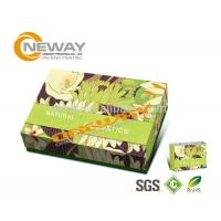Folding Cardboard Floor Display Stands / Cosmetic Packaging Box Manufactures