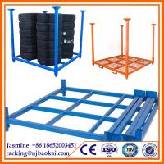 "80"" X 80"" X 60"" Stackable storage steel tire pallet rack(2032 X 2032 X 1524 mm) Manufactures"