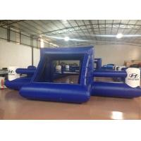 China Outdoor Funny Inflatable Football Games Digital Printing dark blue customized inflatable football area wholesale