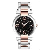 40.0mm japan movt with calendar full stainless steel watches ,Men's steel wrist watch