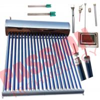 China Food Grade Integrative Heat Pipe Solar Water Heater Portable Simple Structure on sale