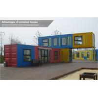 Custom Modern Prefab Shipping Container Homes , Mobile Modular Shipping Container House Manufactures