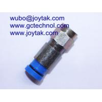China Compression Connector F Type Waterproof Compression Type RG6 RG59 Coax Cable / F.C.007 on sale