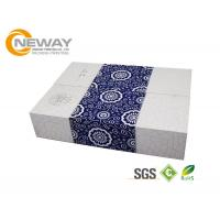 Fashion Rectangle Embossing Printing Flower Paper Box With Lids Manufactures