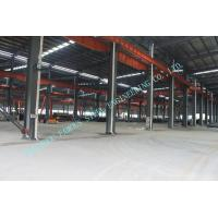 Clear Span Pre-engineered Structral Steel Building System For Changable Standard Manufactures
