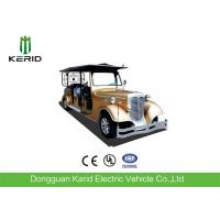 China Custom 11 Seater Antique Electric Cars Sightseeing Vehicle For Airport Reception wholesale