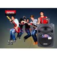 Outdoor Portable Battery Powered PA Speaker 10 Inch Remote Control