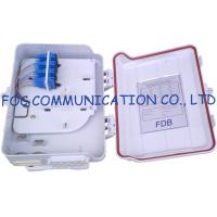 Buy cheap 16 Ports Fiber Optic Distribution Box With Splitters and Adapter For FTTH from wholesalers
