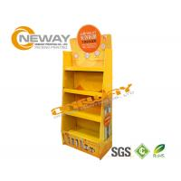 Light Duty Paper Shelf Pop Cardboard Display For Products Promotion Manufactures