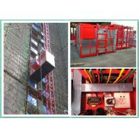 China Electric Industrial Rack And Pinion Goods Passenger Lifts For Construction Site wholesale