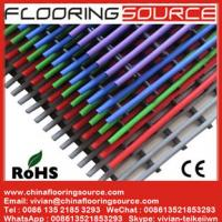 PVC Tubular Mat Plastic Tubes Design for Wet Area Swimming Pool Bathroom Changing room Manufactures