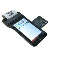 China Android Wireless Mobile Credit Card Payment Terminal With NFC / Printer / MSR on sale