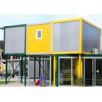 Vinyl Sheet  Steel Structure Building 6055mm x 2435mm x 2790mm for Classroom Manufactures