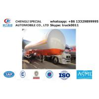 factory sale 17tons-20tons bulk road transported lpg gas storage tank, best price ASME 20tons lpg  gas tank semitrailer Manufactures