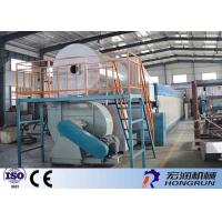 China Industrial Waste Paper Pulp Making Machine For Apple Trays / Drink Trays on sale