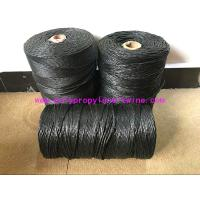 China Fibrillated Twisted PP Filler Yarn Best Breaking Load Winding on Paper Tube on sale