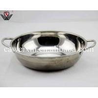 China 28cm food grade stainless steel Soup pot stockpot wholesale