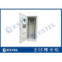 China 48U Outdoor Telecom Equipment Cabinet With Anti-theft Lock Cover Temperature Control Double Wall Steel Cabinet wholesale