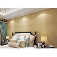 China Gold Multifilament Nonwoven Water Resistant Wallpaper / Strippable Wall Paper wholesale